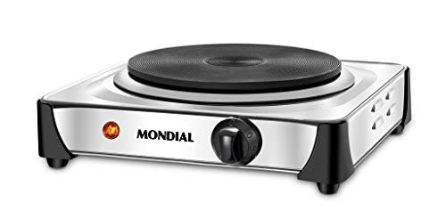 Fogão Elétrico Mondial, Fast Cook, 1 Boca, 127V, 1000W, Inox - FE-04