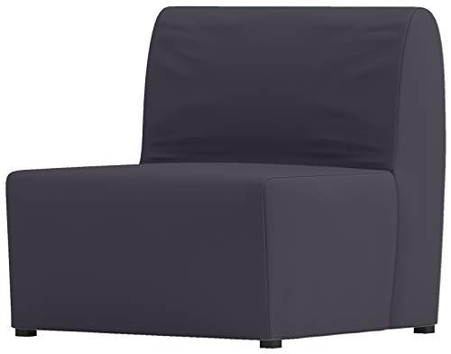 La densa algodón Lycksele silla cama sofá de repuesto es fabricada a medida para IKEA LYCKSELE solo sleeper o futon. Un Lycksele único Funda para asiento de repuesto