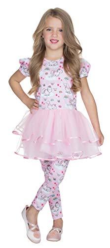 Rubies Theodor 380434-140 Disfraz de Bailarina tutú, Talla 140, para niños, Unicornio, Carnaval, Unicornio, Multicolor