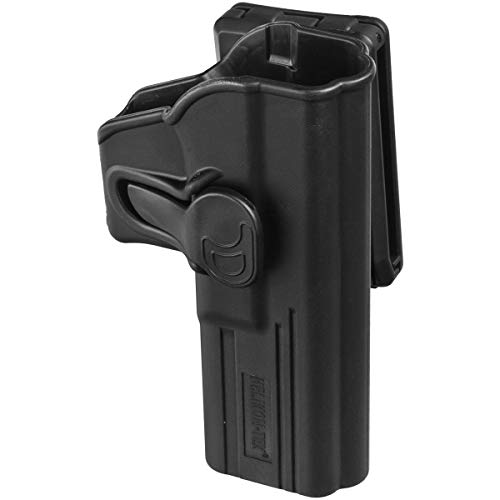 Helikon-Tex Release Button Glock 17 mit Gürtelclip - Military Grade Polymer - Schwarz