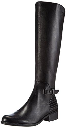 Caprice 25511 Damen gefütterte Langschaft Stiefel, Schwarz (BLACK 001), 37.5 EU (4.5 Damen UK)