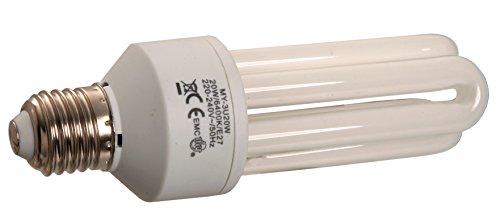 as – Schwabe 46841 Ampoule de rechange avec culot E27/3U 20 W