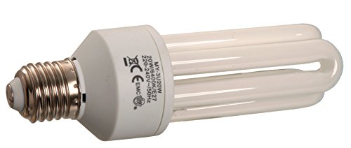 as - Schwabe bombillas, casquillo E27/3U, 20 W, 46841