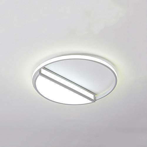 Xungzl LED Simple Home Decoration Floush Monte Luz de techo, Denición de tres colores delgada de 3 colores, Lámparas de techo de forma creativa, adecuada para el armario de dormitorio, escalera, acces