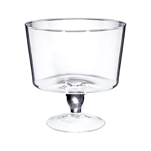 BUTLERS COUPE Glasschale mit Fuß Dekoration Glas Tisch-Deko