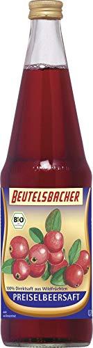 Beutelsbacher Bio Preiselbeersaft Bio (6 x 700 ml)