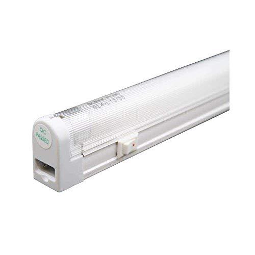 Saunter T4-6 Watt 4100k 9-3/8' Fluorescent Fixture Set (2-Prong Unit)