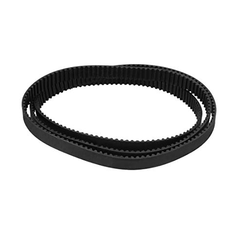 uxcell GT2 Timing Belt 600mm Circumference 6mm Width Closed Fit Synchronous Pulley Wheel for 3D Printer