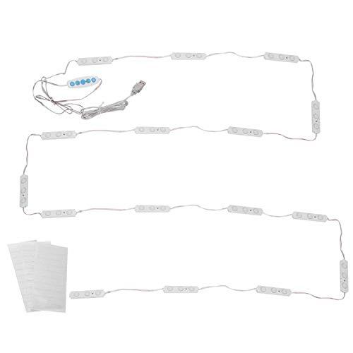 Rodipu Luces de Espejo de tocador, Controlador Profesional, Luces de Espejo de Maquillaje de diseño Impermeable, Rango de usos fácil de Instalar para Espejo de baño, Mesa de tocador de Maquillaje