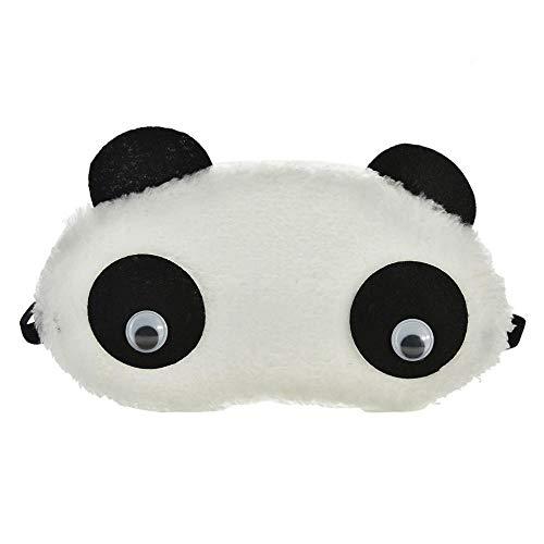 WXQDD-Masques Sommeil 1Pcs Belle Ombre De Masque Pour Les Yeux Panda Joli Voyage Reste Couverture De Bandeau Pour Les Yeux Qui Dort Masque De Yeux Eyehade Eyepatch, 1