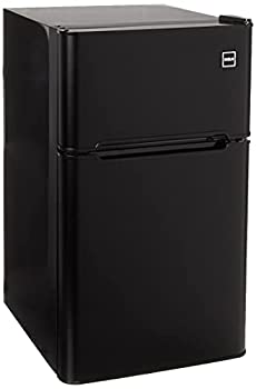 RCA RFR835-Black 3.2 Cubc Foot 2 Door Fridge and Freezer Black