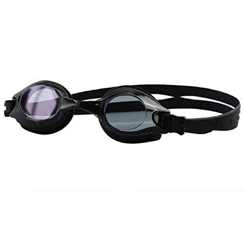no_brand Gafas de natación con protección UV sin fugas, gafas de natación para adultos y mujeres, gafas de natación de silicona a prueba de niebla, gafas de natación de alta definición antivaho