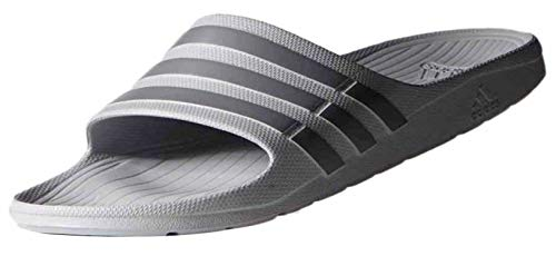 adidas Performance Men's Duramo Slides,Onix Grey/Grey,7 M US