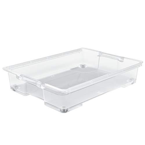 Rotho Evo Easy Aufbewahrungsbox 50l , Kunststoff (lebensmittelecht) BPA-frei, transparent, 50l (78,7 x 58,6 x 15,9 cm)