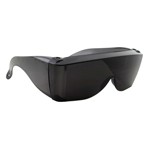 Wise Eyewear Cover-Ups Black Fit Over Sunglasses - Wrap Around Sunglasses - People Who Wear Prescription Glasses in the Sun (Black), X-Large