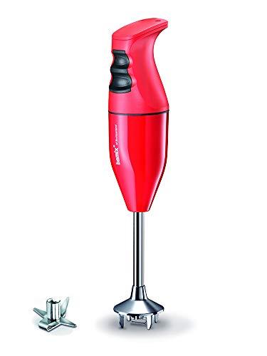 Bamix Classic C120 - Batidora de mano, color rojo