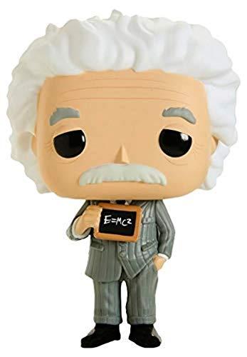 Funko- Pop Figura in Vinile Icons: Albert Einstein Scientist Collezione, Multicolore, 43543