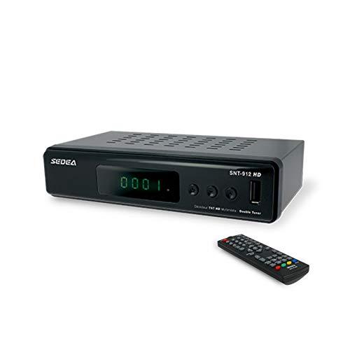 sedea Receptor TNT terrestre HD Doble Tuner Caja TV...