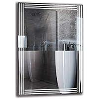 Espejo LED Premium - Dimensiones del Espejo 70x100 cm - Espejo de baño con iluminación LED - Espejo de Pared - Espejo de luz - Espejo con iluminación - ARTTOR M1ZP-51-70x100 - Blanco frío 6500K