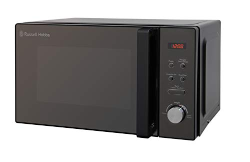 Russell Hobbs RHM2076B 20 Litre 800 W Black Digital Solo Microwave with 5...