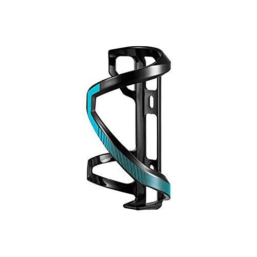 GiANT Airway Sport Ausgezeichnete Flexible, Geschmeidig und Haltbar Sidepull (Links & rechts) Radfahren Flaschenhalter - (Mattschwarz/Gloss Blau) (Linke Seite)