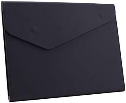 Enyuwlcm PU Leather A4 File FoldeEnyuwlcm PU Leather A4 File Folder Document Holder Waterproof product image