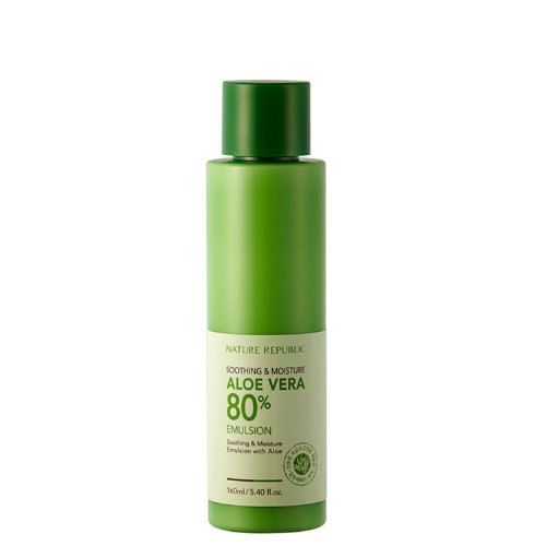 Nature Republic Soothing & Mositure Aloe Vera 80% Emulsion 160ml