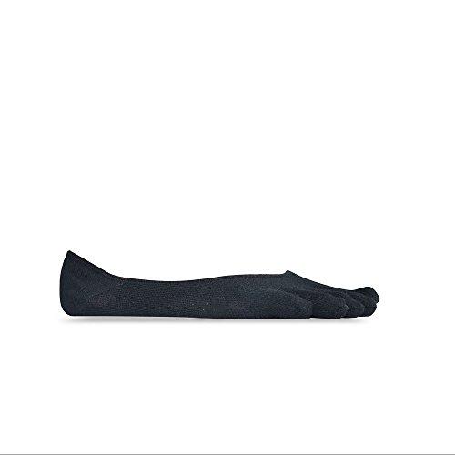 Vibram FiveFingers Herren Ghost Socks, Black, L