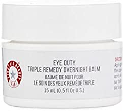 First Aid Beauty Eye Duty Triple Remedy Overnight Balm, 0.5 Ounce