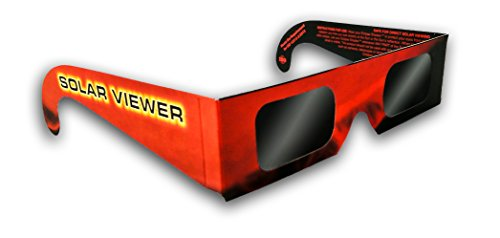 GL-25 - Black Polymer Film Solar Filter Glasses (One Pack of 25 Each)