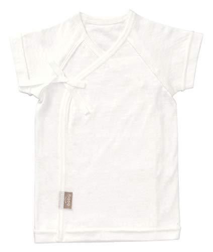[ワコールベビー] ベビーインナー 短肌着 半袖 日本製 BGS175 WH 日本 60-70 (日本サイズ60 相当)