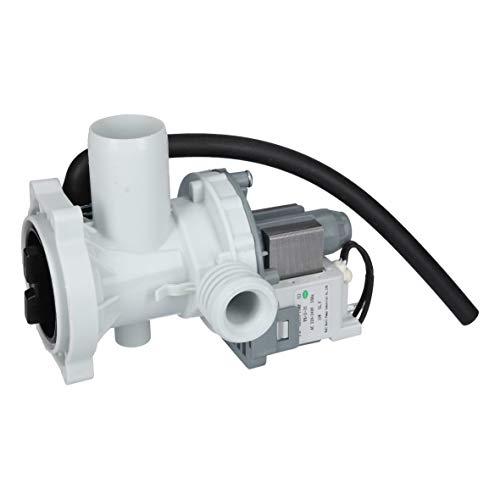 Ablaufpumpe Laugenpumpe Schmutzwasserpumpe Wasserpumpe Pumpe mit Pumpenkopf und Sieb Waschmaschine ORIGINAL Amica 1020742