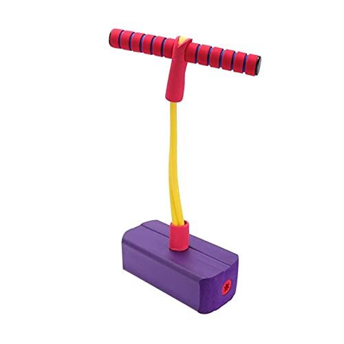 GST Saltador Bounce Stick Kids 5-10 Old & hasta 36kgs 6 años de Edad y niños Mayores niños y niñas for el Jinete ( Color : Purple )
