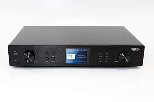 Xoro HFT 440 Digitaler HiFi Tuner mit WLAN- und DAB+/UKW-Antenne