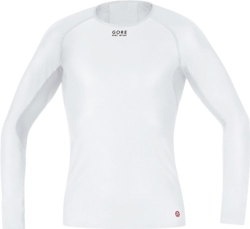 Gore Bike Wear base Layer WS Shirt lunga da uomo per ciclismo, Uomo, White, XXL