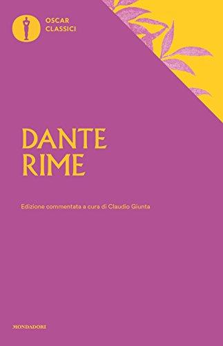Rime. Ediz. commentata by Dante Alighieri