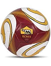 Mondo Sport piłka nożna A.S. Roma - rozmiar 5 - 410 g - oficjalny produkt - kolor: żółty/czerwony/biały - 13641