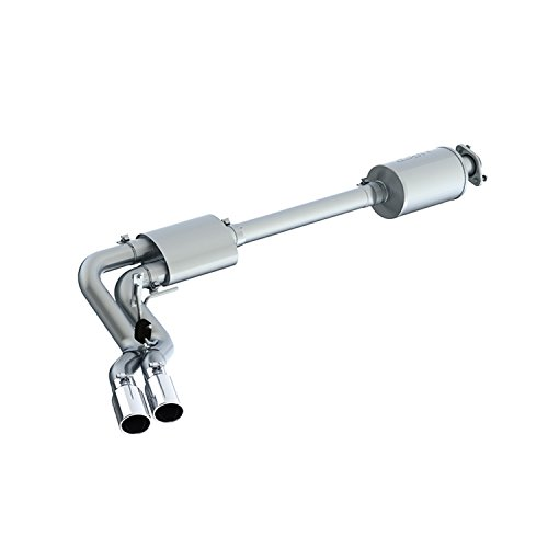 "MBRP S5262AL Exhaust System Cat Back (2015 - UP Ford F150 Excluding Reg Cab Short Box 3"", Pre-Axle Dual Outlet)"