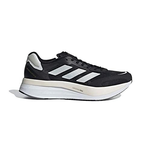 Adidas Adizero Boston 10 M, Zapatillas para Correr Hombre, Core Black/FTWR White/Gold Met, 43 1/3 EU
