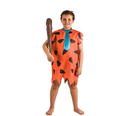 El Rey del Carnaval Disfraz de Señor Cavernícola para niño