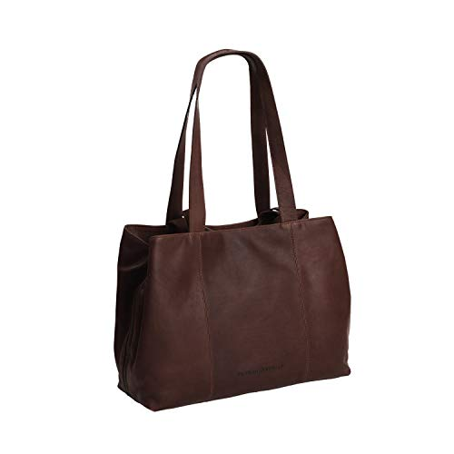 The Chesterfield Brand Wax Pull Up Gail Schultertasche Leder 36 cm