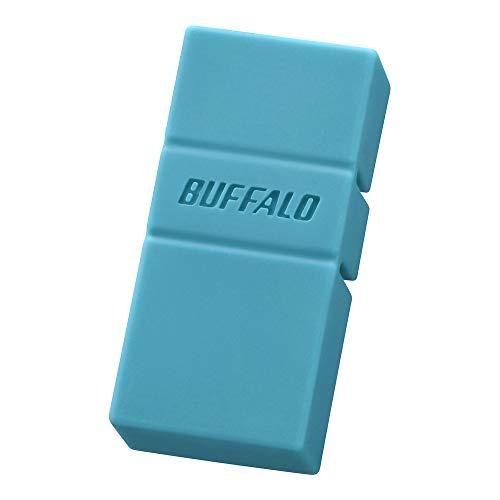 BUFFALO USB3.2(Gen1)TypeC-A対応USBメモリ 32GBブルー RUF3-AC32G-BL