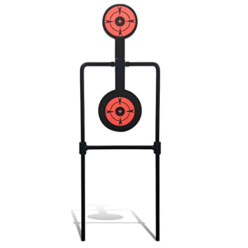Highwild Double Spinner Shooting Targets - Auto Reset Steel Target - for Centerfire Handguns Up to...