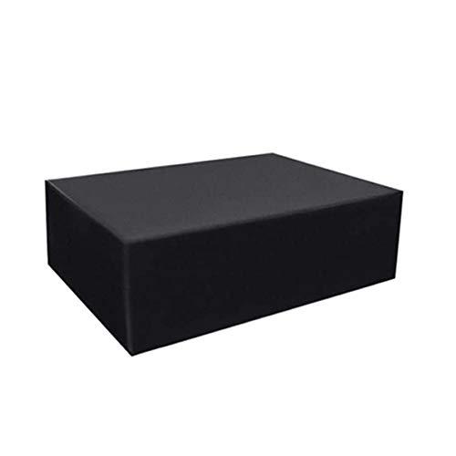 BWBG Fundas para Muebles De Jardin Mesa 420D,135x80x110cm Cubiertas para Muebles De Exterior Cuadrada Prueba De Polvo Viento/Nieve Funda Protectora Muebles Terraza