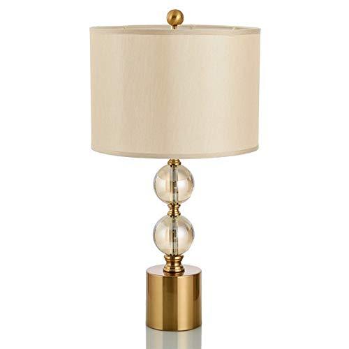 CHNOI Tabla Simple Moderna de Moda lámparas de Mesa Bola de Cristal de la lámpara del Cuerpo lámparas Modelo Salón Dormitorio Decorativa lámparas de Mesa