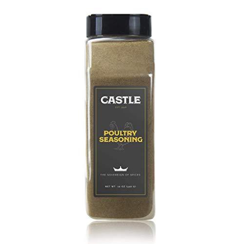 Castle Foods | POULTRY SEASONING, 12 oz Premium Restaurant Quality