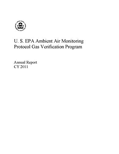 US EPA Ambient Air Monitoring Protocol Gas Verification Program Annual Report CY 2011 (English Edition)