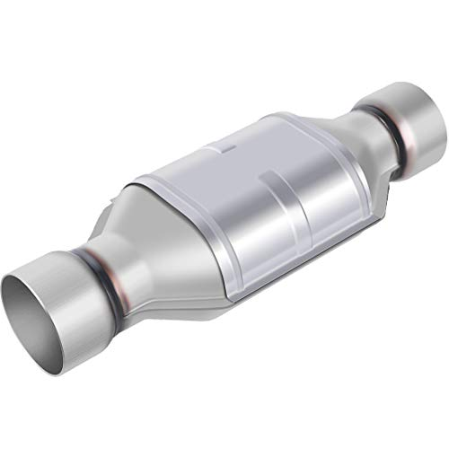 AUTOSAVER88 ATCC0022 3' Inlet/Outlet Universal Catalytic Converter w/Heat Shield (EPA Compliant)
