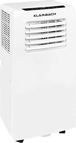 KLARBACH Mobiles Klimagerät CM 30751 we | 7000 BTU / 2,1 kW Kühlleistung | 730 W Leistung | weiß