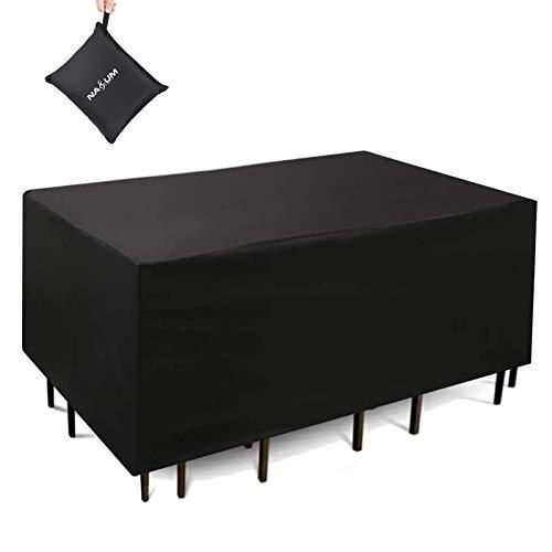 Abdeckhaube NASUM Abdeckung Schutzhülle Abdeckplane Gewebeplane Schutzhaube für Möbel (240x160x100cm)